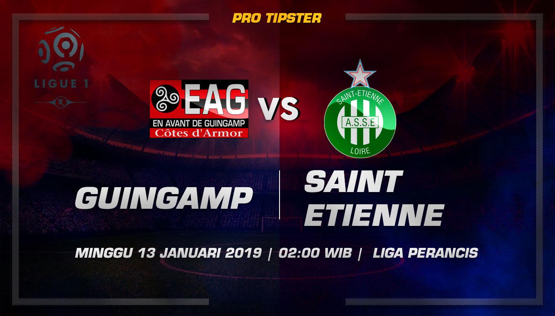 Prediksi Taruhan Bola Guingamp vs Saint Etienne 13 Januari 2019