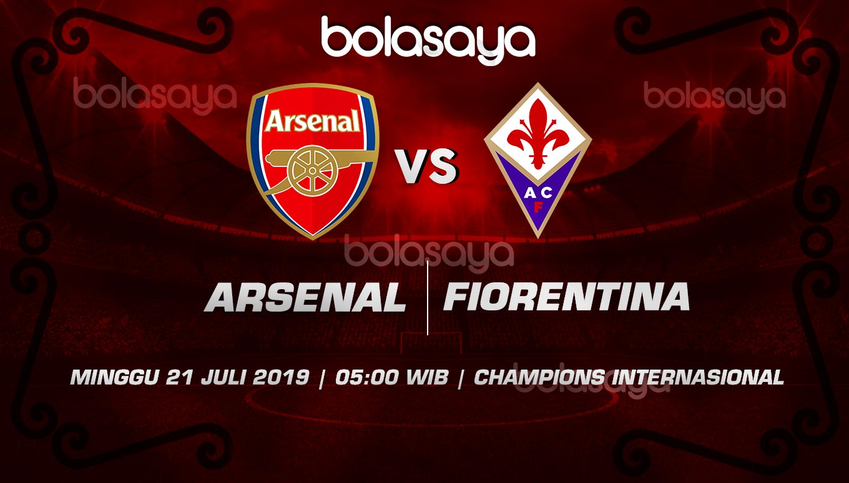 Prediksi Taruhan Bola Arsenal vs Fiorentina 21 Juli 2019