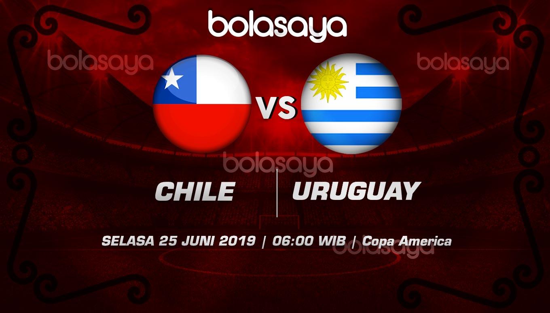 Prediksi Taruhan Bola Chile vs Uruguay Selasa 25 Juni 2019