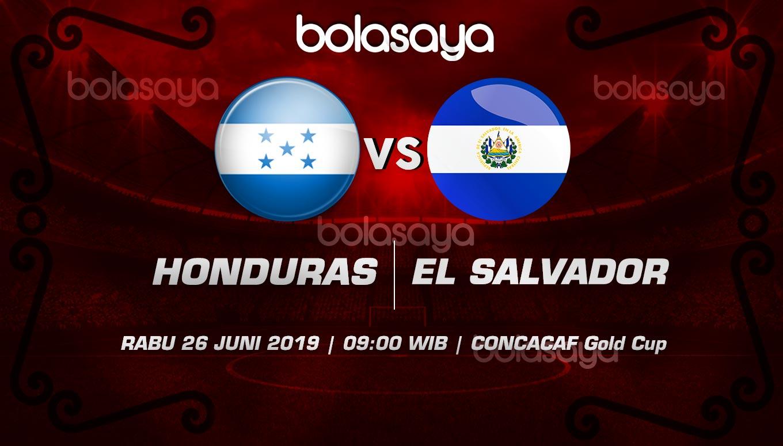 Prediksi Taruhan Bola Honduras vs El Salvador Rabu 26 Juni 2019