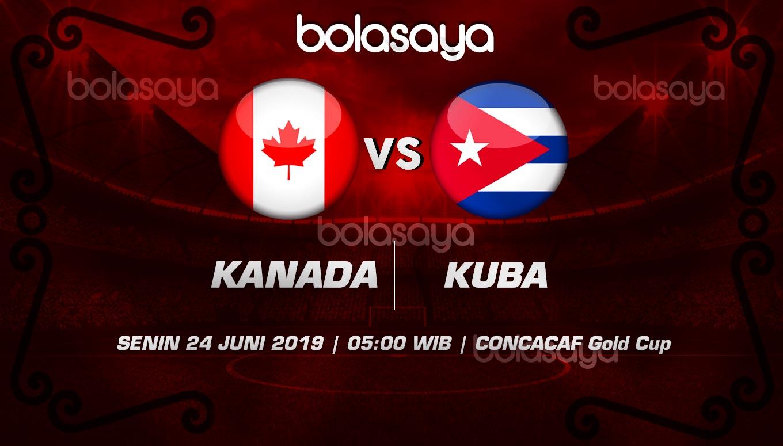 Prediksi Taruhan Bola Kanada vs Kuba Senin 24 Juni 2019