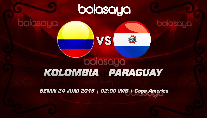 Prediksi Taruhan Bola Kolombia vs Paraguay Senin 24 Juni 2019