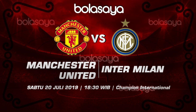 Prediksi Taruhan Bola Manchester United vs Inter 20 Juli 2019