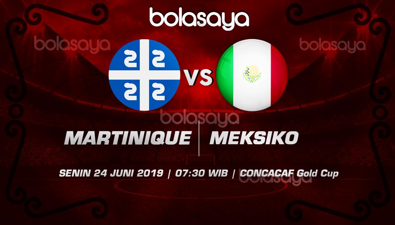 Prediksi Taruhan Bola Martinique vs Meksiko Senin 24 Juni 2019