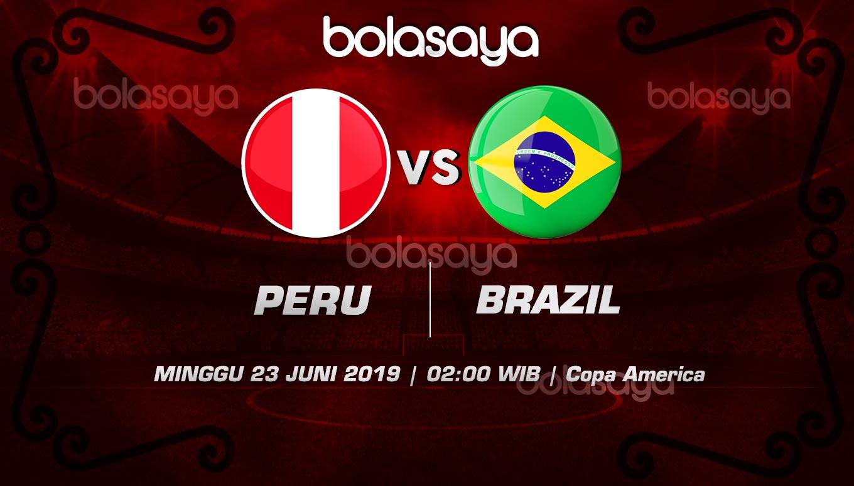 Prediksi Taruhan Bola Peru vs Brazil Minggu 23 Juni 2019