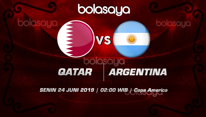 Prediksi Taruhan Bola Qatar vs Argentina Senin 24 Juni 2019