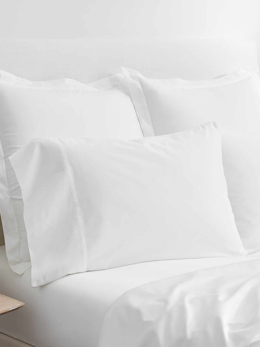 Signature Sheet Set in white, Boll & Branch