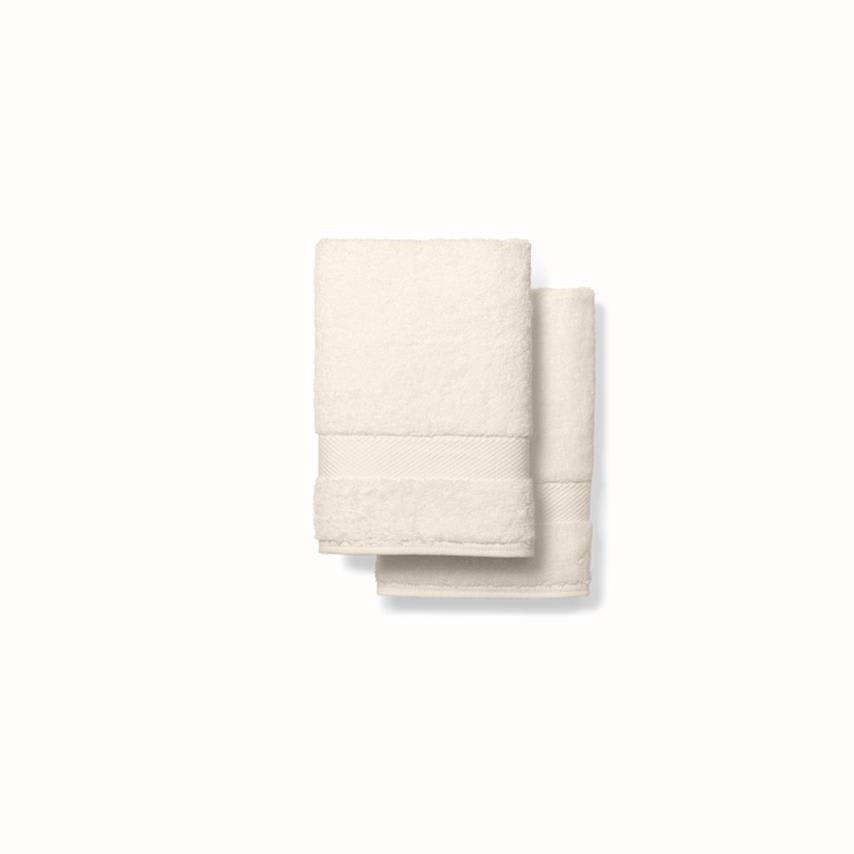 Plush Hand Towels (Pair) natural variant image