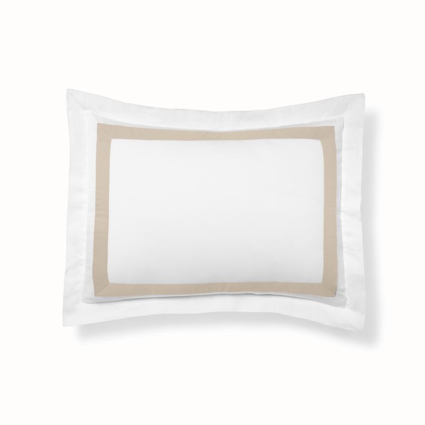 Banded Sham white/dune variant image