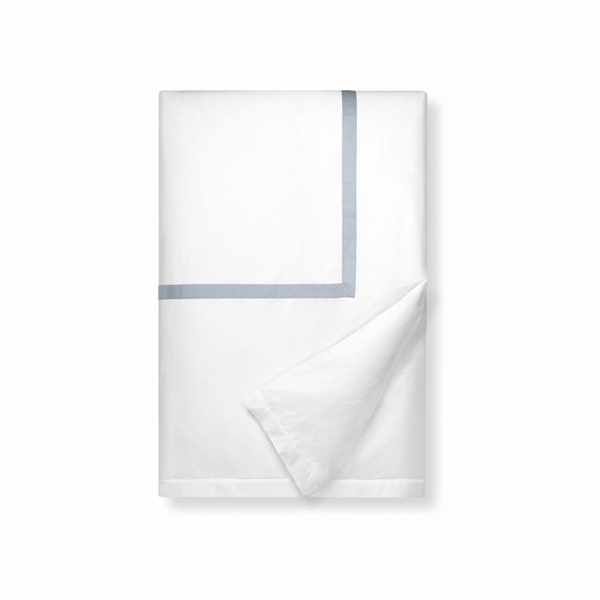 Banded Duvet Cover white/shore variant image