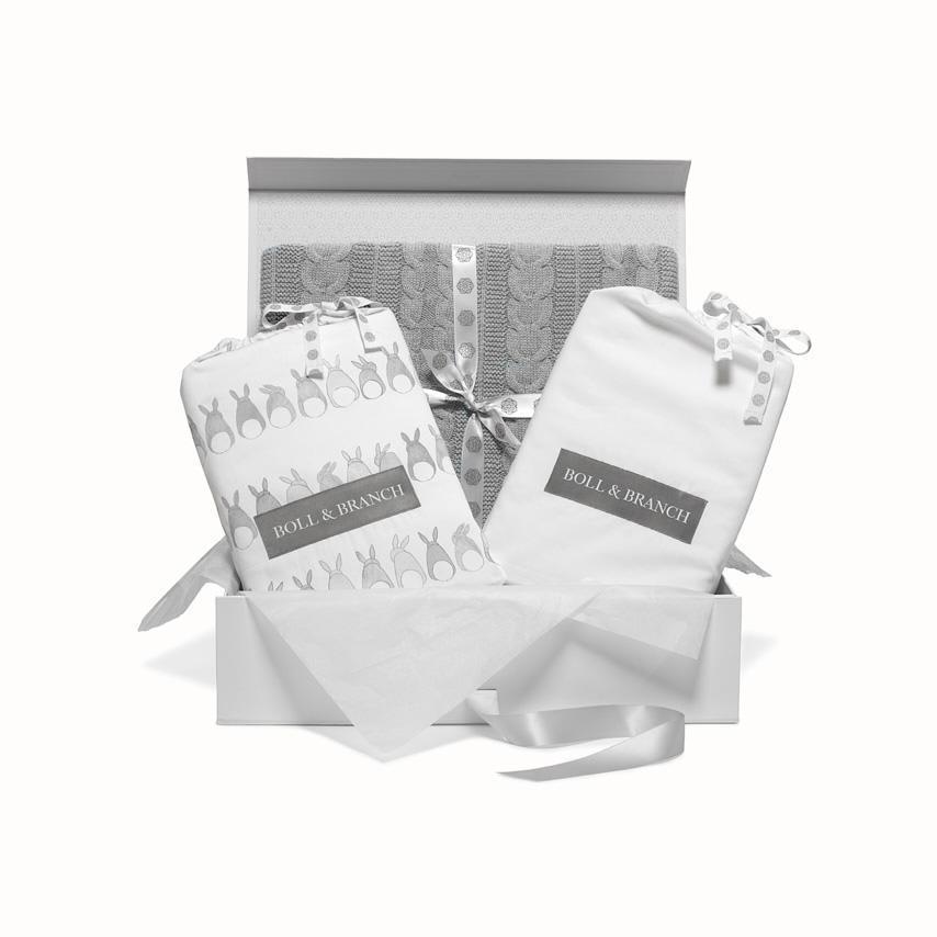 Signature Baby Gift Set heathered grey variant image