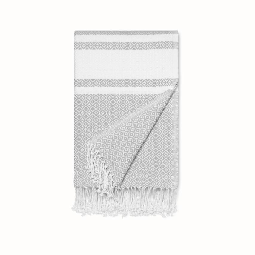 Adirondack Bed Blanket pewter/white adirondack variant image