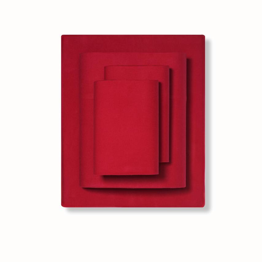 Flannel Sheet Set red variant image