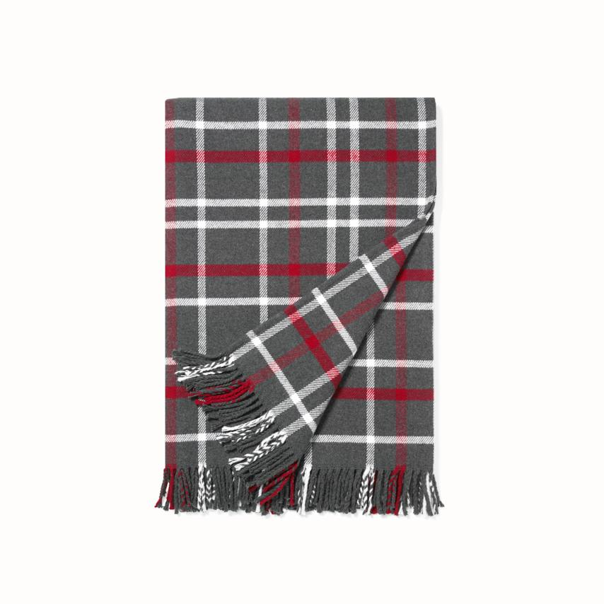 Plaid Oversized Throw Blanket collection image