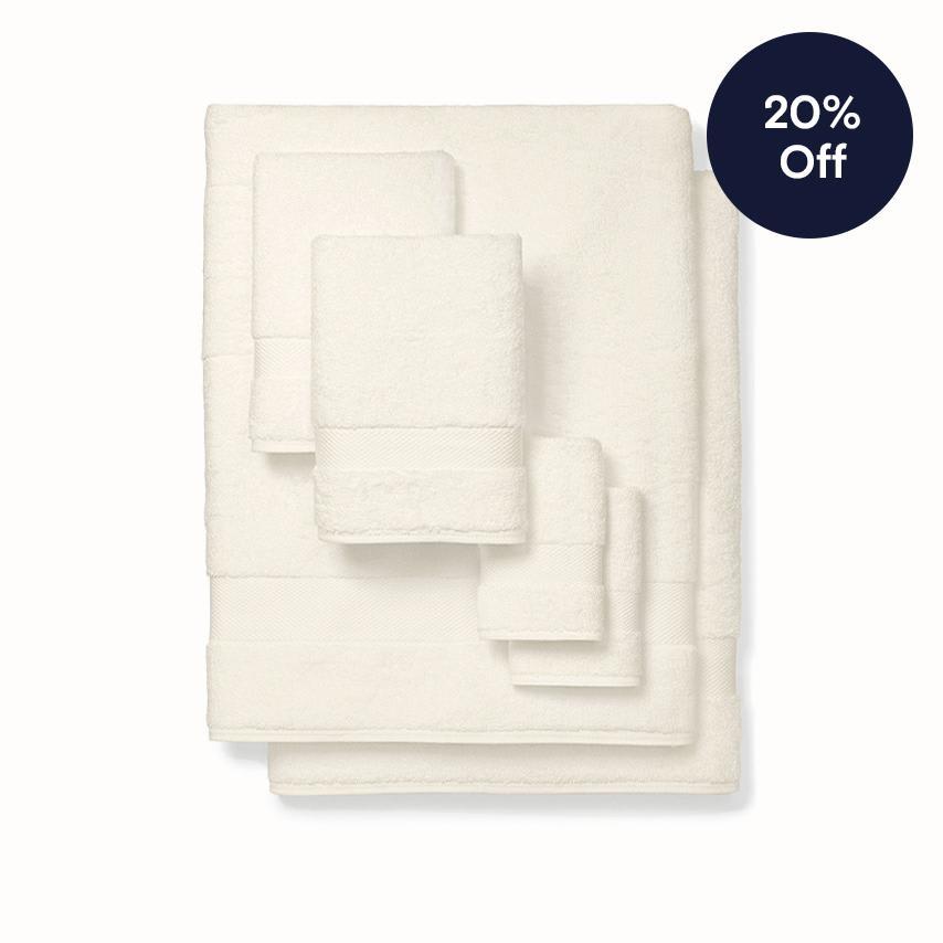 Plush Bath Sheet Set natural variant image