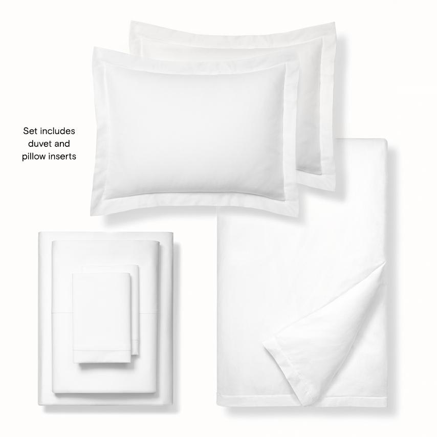 Classic Hemmed Deluxe Bed Set collection image