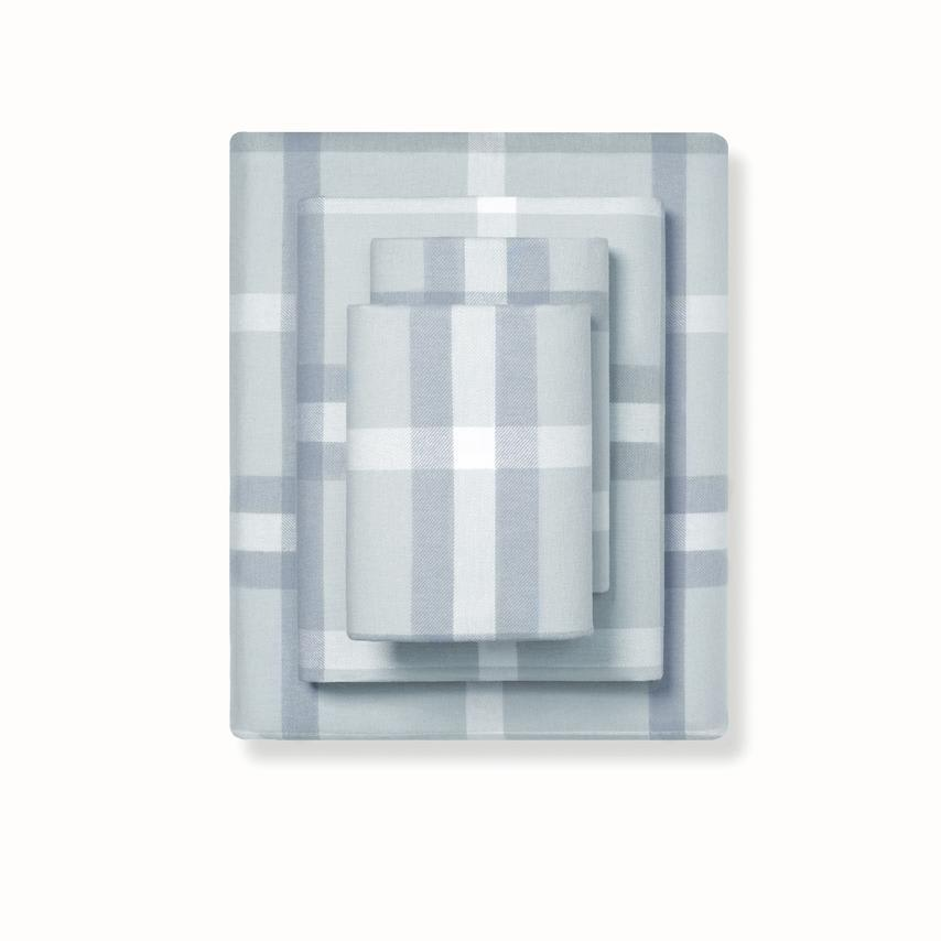 Flannel Sheet Set shore modern plaid variant image