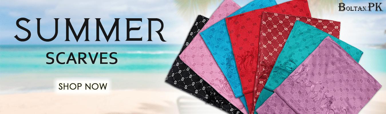 Summer Scarves boltan.pk