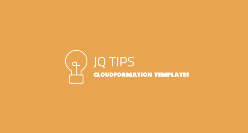 Summarize CloudFormation Resources with jq Tip - BoltOps Blog
