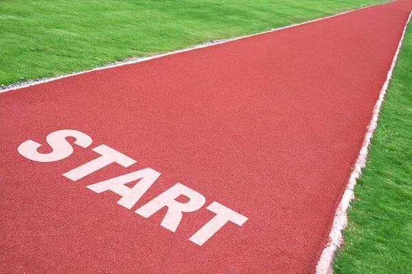 Track Starting Line