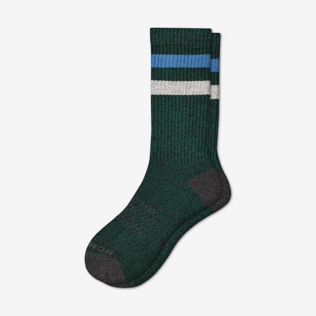 evergreen Men s Vintage Stripe Calf Socks 739873b61f8