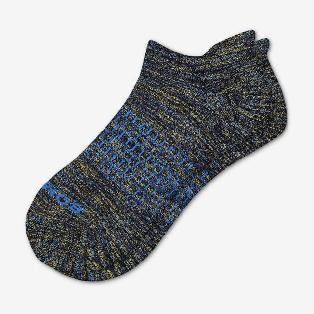 Evergreen Steel Mens Space Dye Ankle Socks