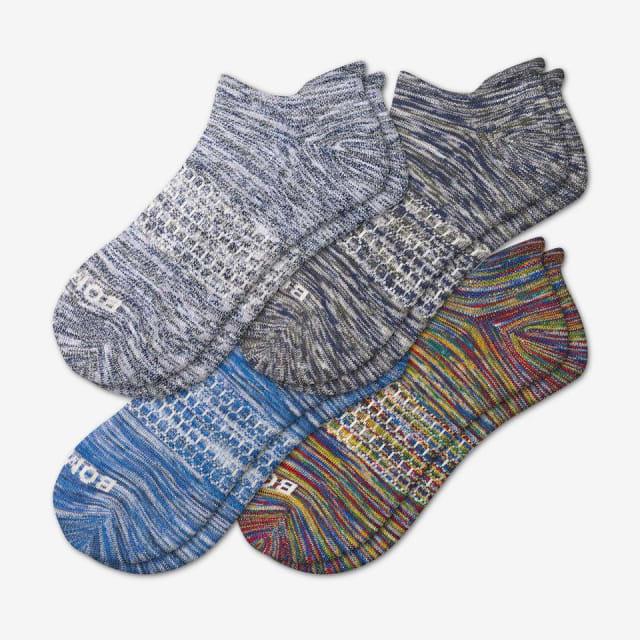 86db6db4e8ec2e Men s Space Dye Ankle Sock 4-Pack