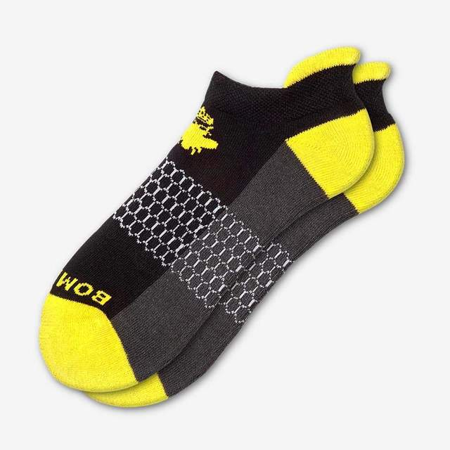 black-and-canary-yellow Women's Original Ankle Socks