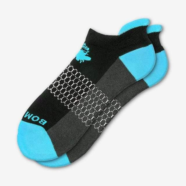 black-and-ocean-blue Men's Originals Ankle Socks