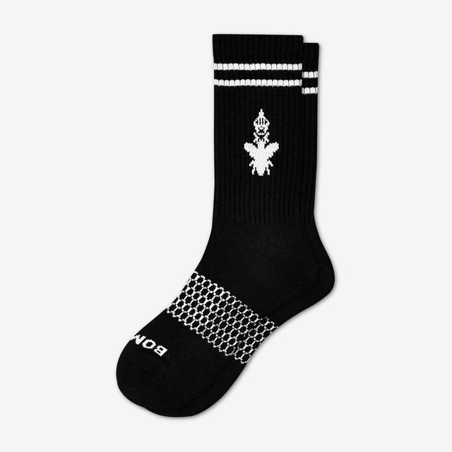 black Men's Originals Calf Socks