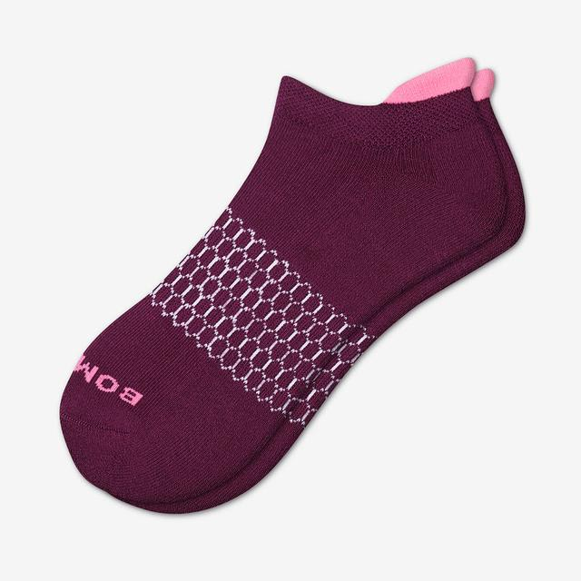 blackberry Women's Solid Neon Tipping Ankle Socks