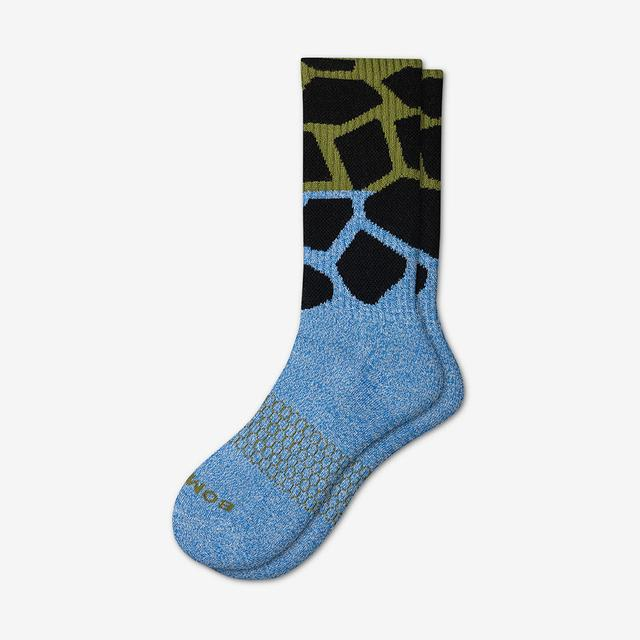blue-green Women's Wild Wear Calf Socks