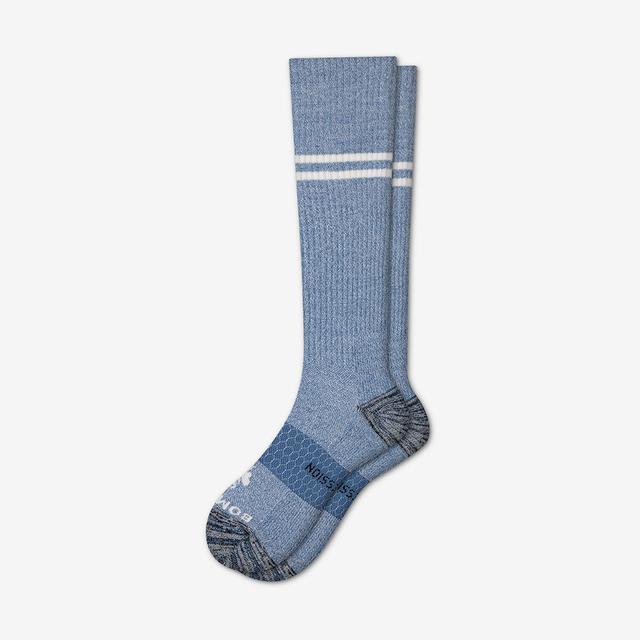 blue-grey Women's Compression Socks
