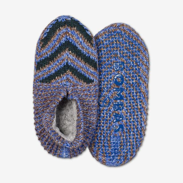 blue-multi Youth Gripper Slipper