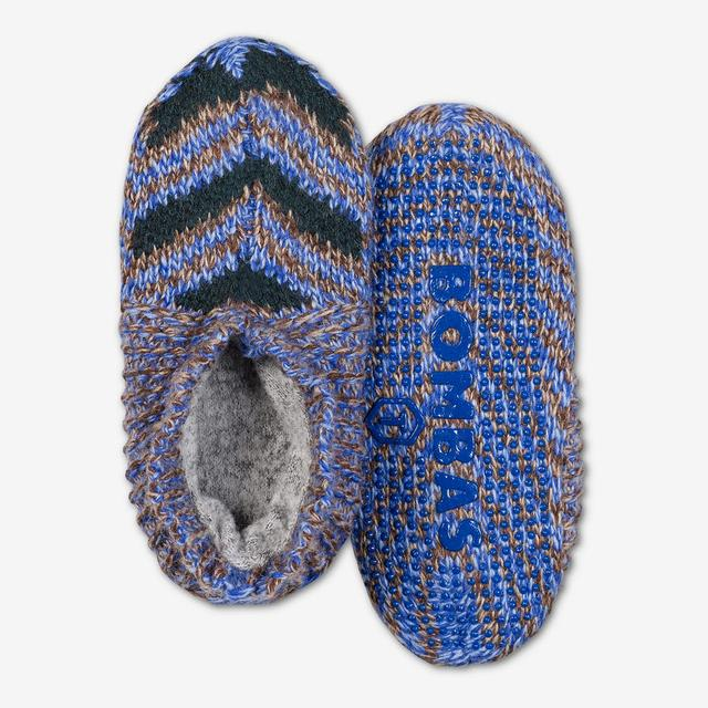blue-multi Toddler Gripper Slipper