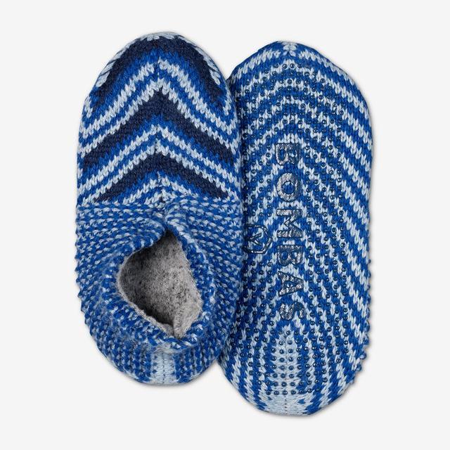 blue-multi Youth Gripper Slipper