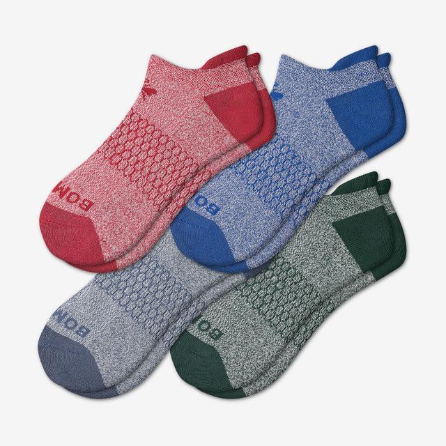 blue-red-green-mix Men's Originals Ankle Sock 4-Pack
