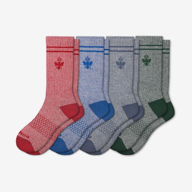 blue-red-green-mix Men's Originals Calf Sock 4-Pack