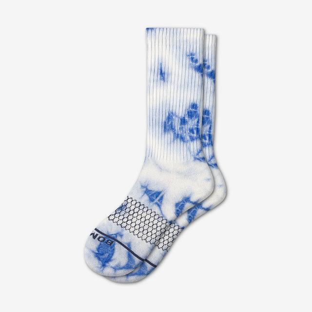 blue-white Women's Merino Wool Calf Socks