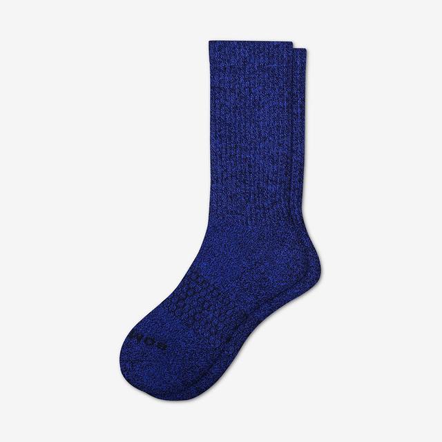 blueberry Men's Classic Marls Calf Sock