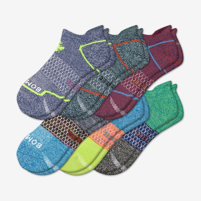 colorblock-mix Men's All-Purpose Performance Ankle Sock 6-Pack