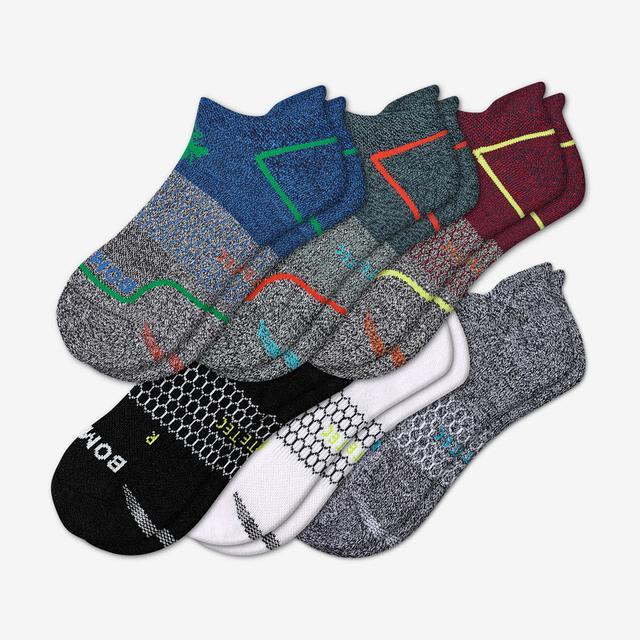 colorblock-multi Men's All-Purpose Performance Ankle Sock 6-Pack