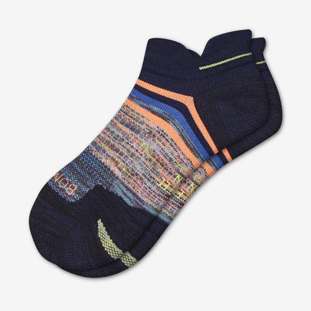 dark-navy Men's Performance Running Ankle Socks