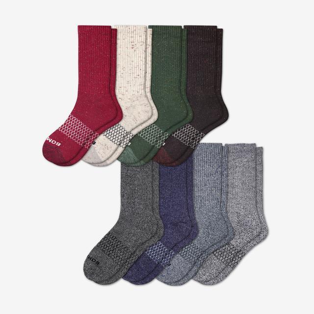 donegal-marls-mix Women's Calf Sock 8-Pack