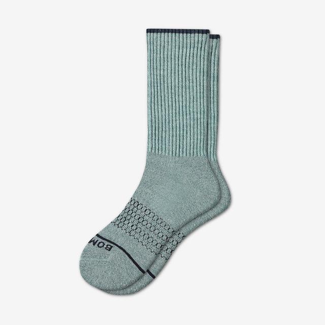 dusty-sage Men's Merino Wool Calf Socks