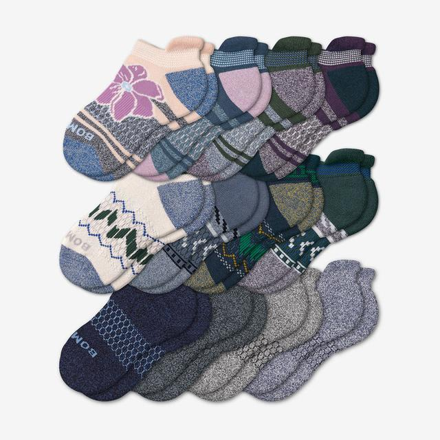 fair-isle-mix Youth Ankle Sock 12-Pack