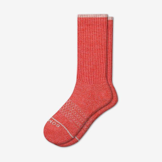 fire-engine Men's Merino Wool Calf Socks