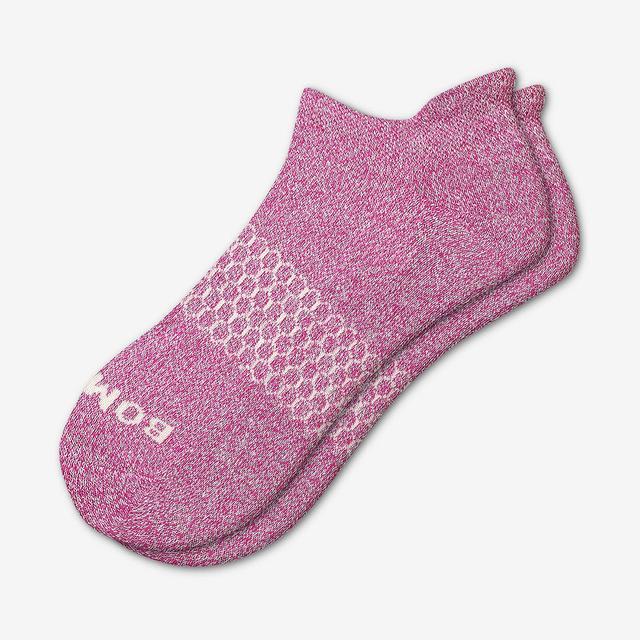 fuchsia Women's Classic Marls Ankle Socks