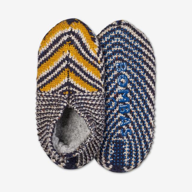 gold-multi Youth Gripper Slipper