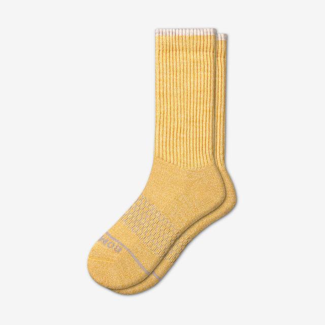 golden Men's Merino Wool Calf Socks